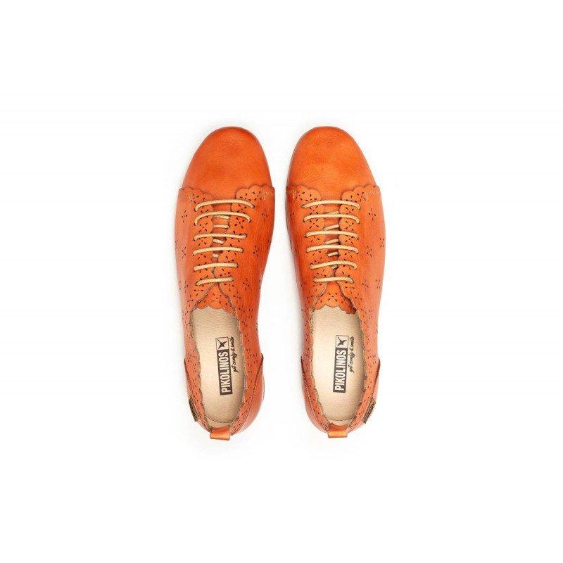 Pikolinos escarlata Calabria mujer Zapatos rojo 4833 W9K by7gf6