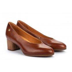 Zapatos Tacon Alto Mujer Pikolinos Calafat W1Z-5512 Cuero