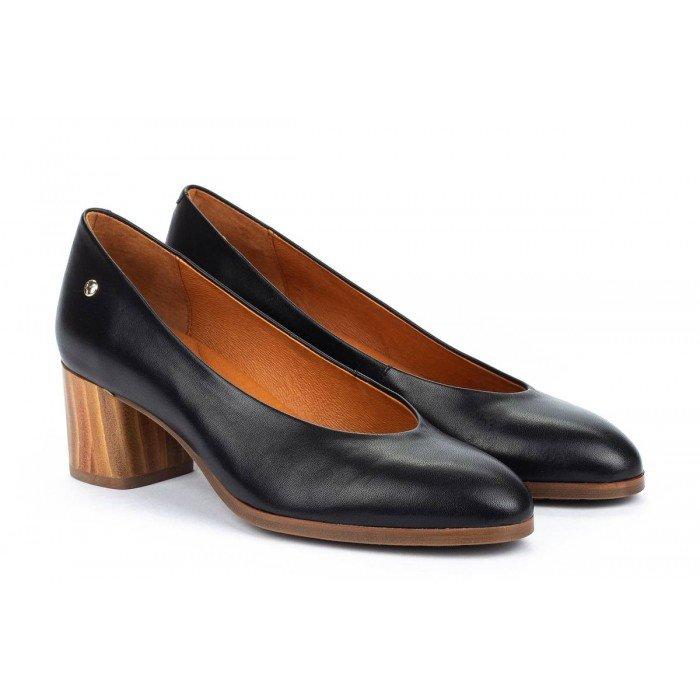 Zapatos Tacon Alto Mujer Pikolinos Calafat W1Z-5512 Negro