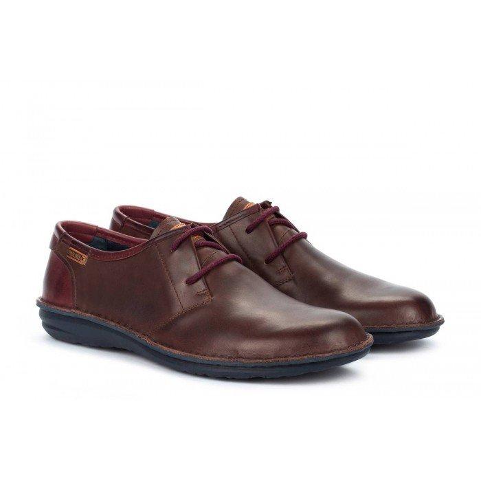 Zapatos Blucher Hombre Pikolinos Santiago M8M-4298C1 Marrón Olmo