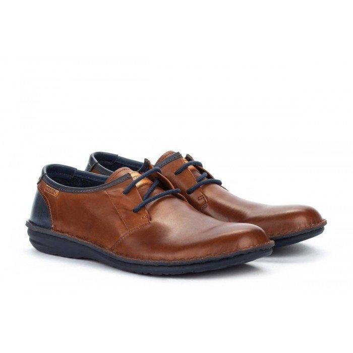 Zapatos Blucher Hombre Pikolinos Santiago M8M-4298C1 Cuero