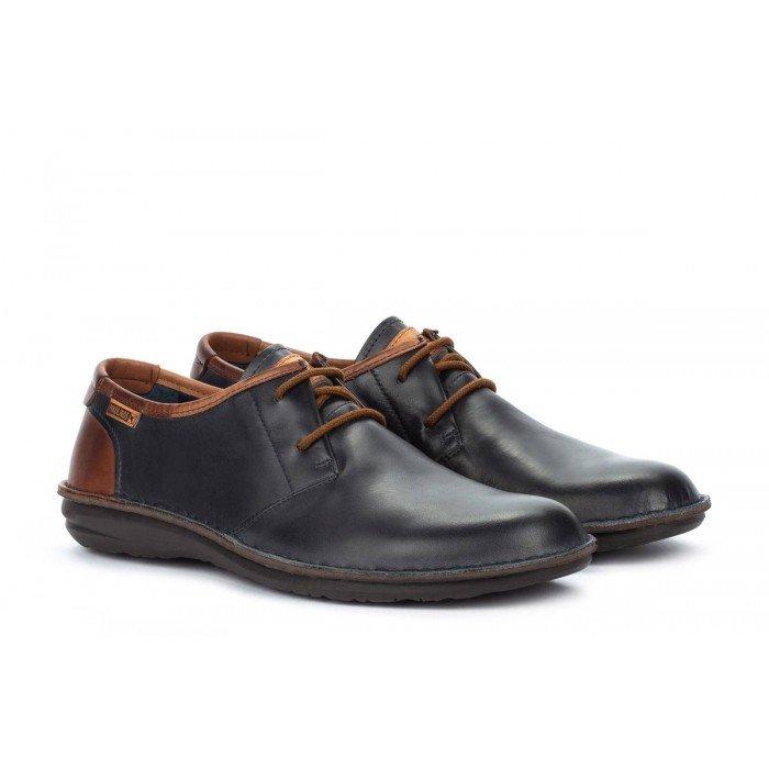 Zapatos Blucher Hombre Pikolinos Santiago M8M-4298C1 Azul Navy