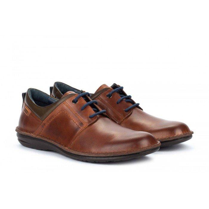 Zapatos Blucher Hombre Pikolinos Santiago M8M-4308 Cuero