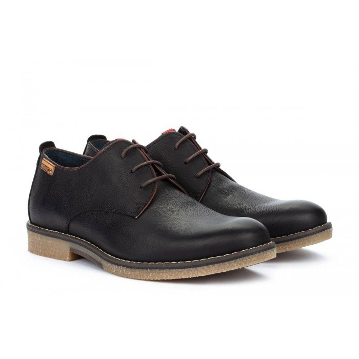 Zapatos Blucher Hombre Pikolinos Irun M0E-4244NW Negro