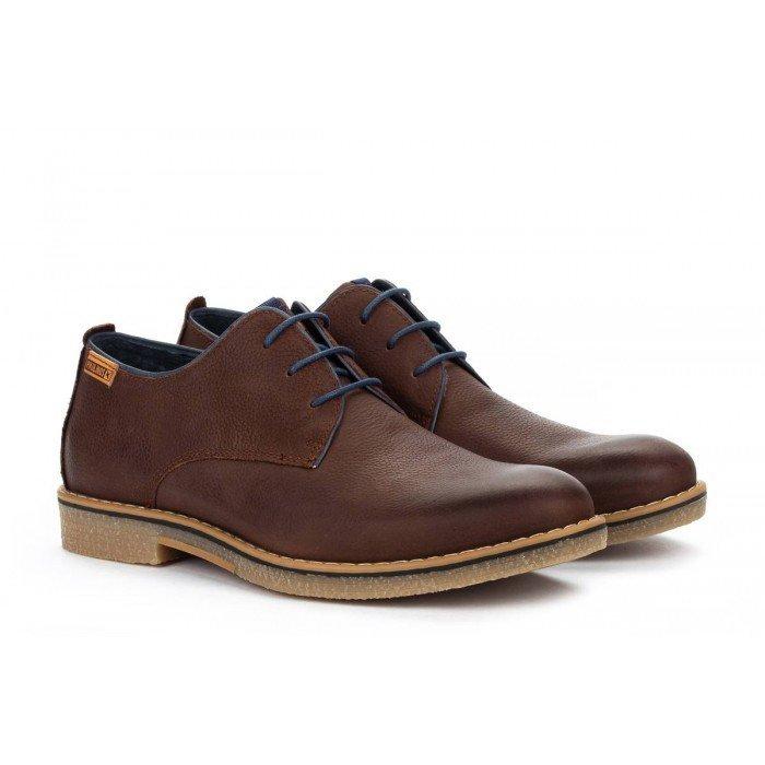 Zapatos Blucher Hombre Pikolinos Irun M0E-4244NW Marrón Olmo