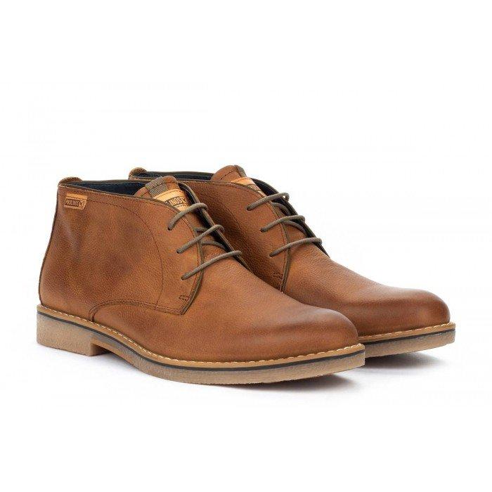 Zapatos Blucher Hombre Pikolinos Irun M0E-8163NW Cuero Brandy