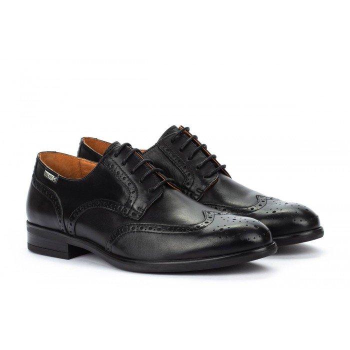Zapatos Blucher Hombre Pikolinos Bristol M7J-4186 Negro