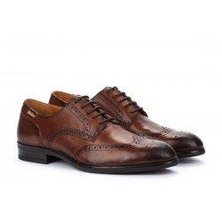 Zapatos Blucher Hombre Pikolinos Bristol M7J-4186 Cuero