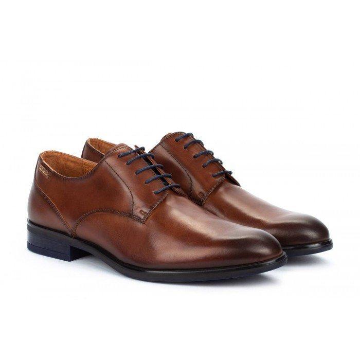 Zapatos Blucher Hombre Pikolinos Bristol M7J-4187C3 Cuero