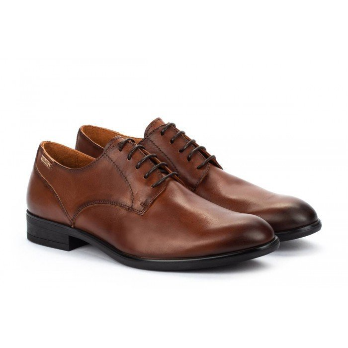 Zapatos Blucher Hombre Pikolinos Bristol M7J-4187 Cuero