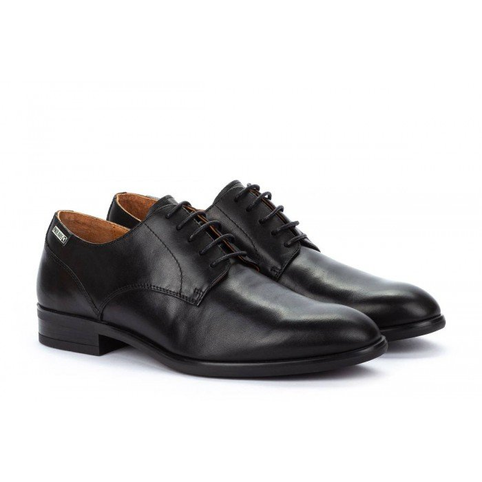 Zapatos Blucher Hombre Pikolinos Bristol M7J-4187 Negro