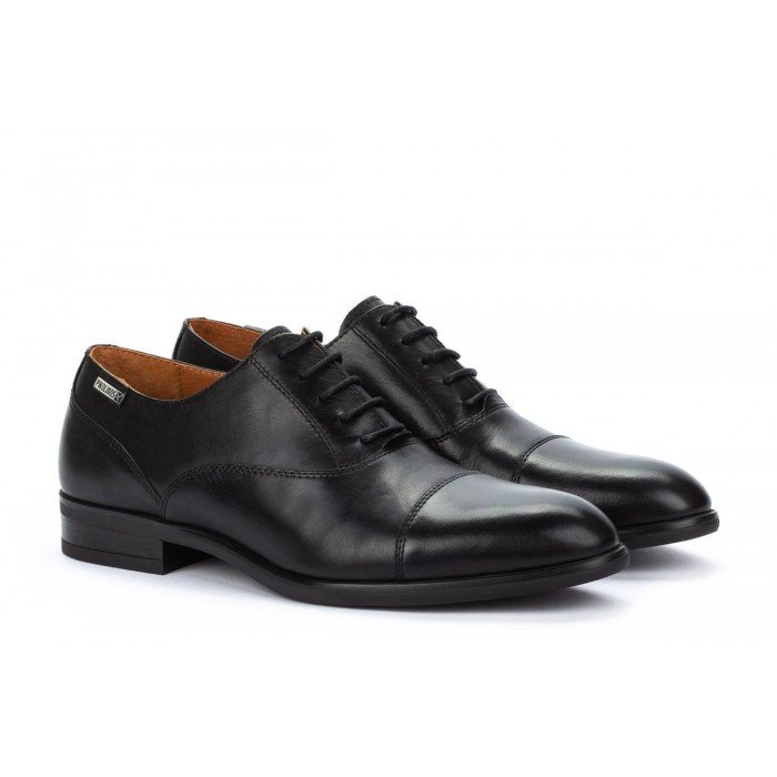 Zapatos Blucher Hombre Pikolinos Bristol M7J-4184 Negro