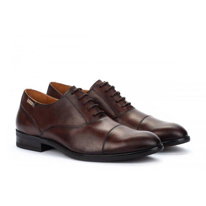 Zapatos Blucher Hombre Pikolinos Bristol M7J-4184 Marrón Olmo