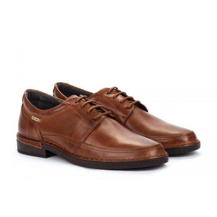 Zapatos Blucher Hombre Pikolinos Bermeo M0M-4255 Cuero
