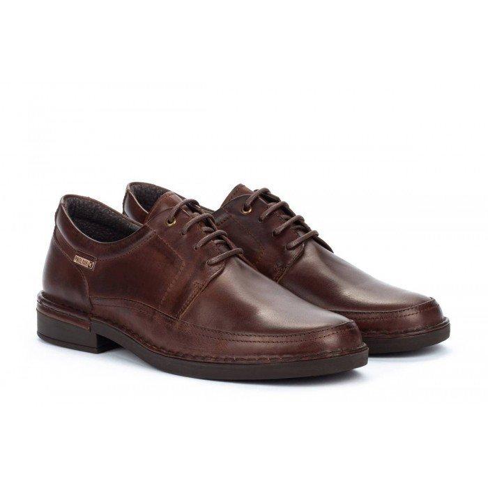 Zapatos Blucher Hombre Pikolinos Bermeo M0M-4255 Marrón Olmo