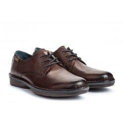 Zapatos Blucher Hombre Pikolinos Lugo M1F-4091 Marrón Olmo