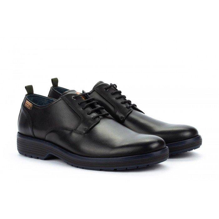 Zapatos Blucher Hombre Pikolinos Gava M5P-4332 Negro