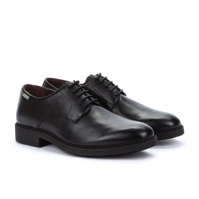 Zapatos Blucher Hombre Pikolinos Lorca 02N-6130 Negro