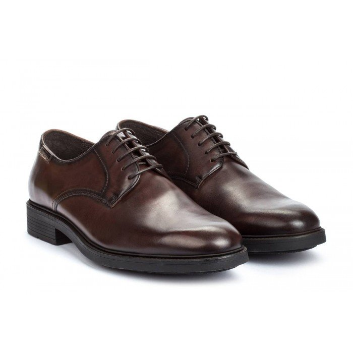Zapatos Blucher Hombre Pikolinos Lorca 02N-6130 Marrón Olmo