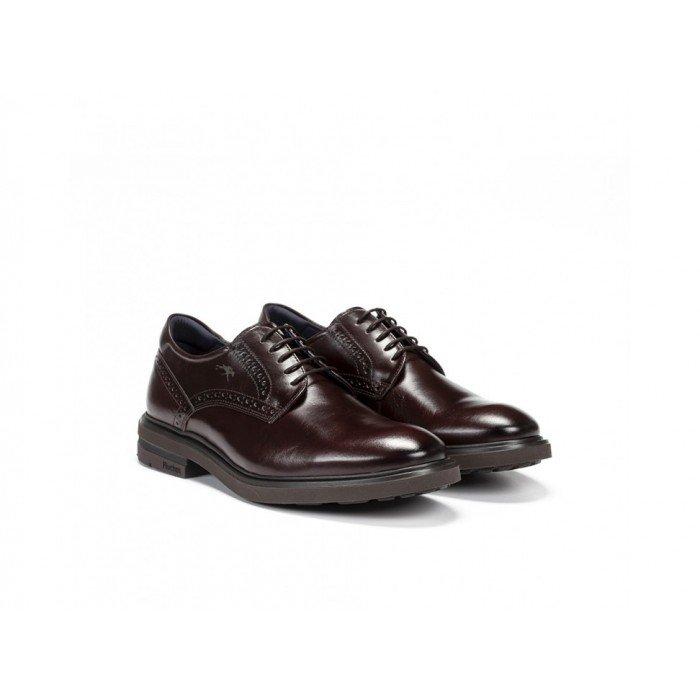 Zapatos Hombre Fluchos Belgas F0630 Marrón Café