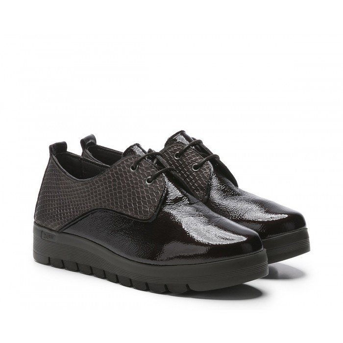 Zapatos Mujer 24 Hrs 23830 Combi Negro