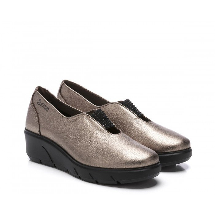 Zapatos Mujer 24 Hrs 24250 Taupe