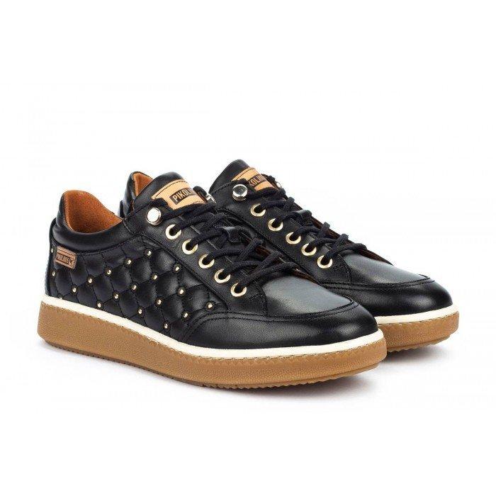 Zapatos Deportivos Mujer Pikolinos Baeza W8V-6799 Negro