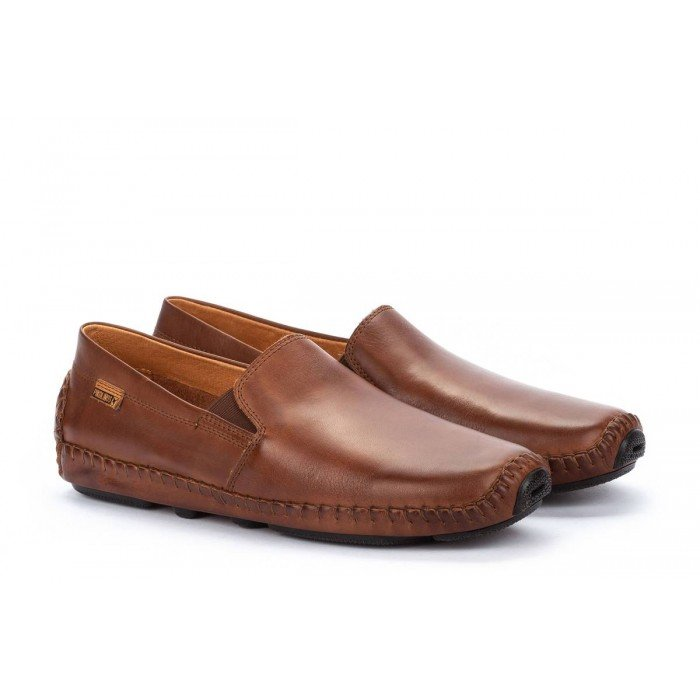 Zapatos Mocasines Hombre Pikolinos Jerez 09Z-5511 Cuero