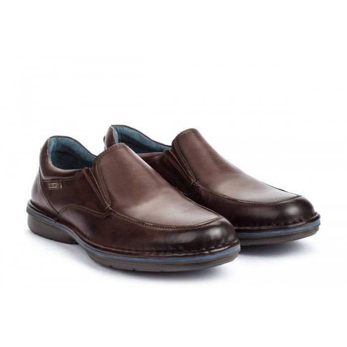 Zapatos Mocasines Hombre Pikolinos Lugo M1F-3066 Marrón Olmo