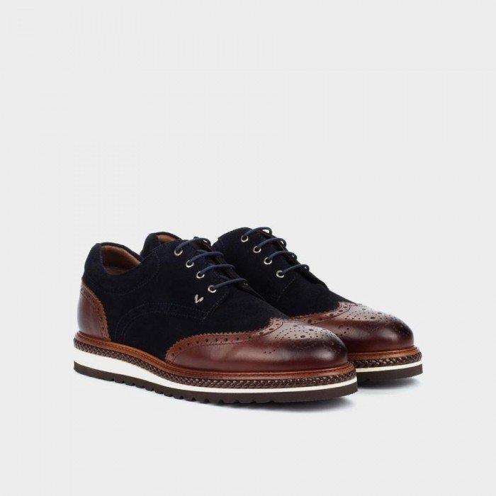 Zapatos Blucher Hombre Martinelli Dutch 1433-0949F Cuero Tan