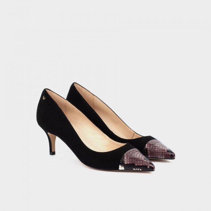 Zapatos Salon Mujer Martinelli Turia 1376-4206AB Negro