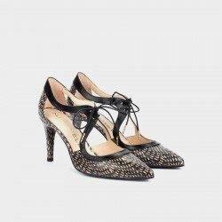 Zapatos Tacon Alto Martinelli Selena 1365-3498M Negro