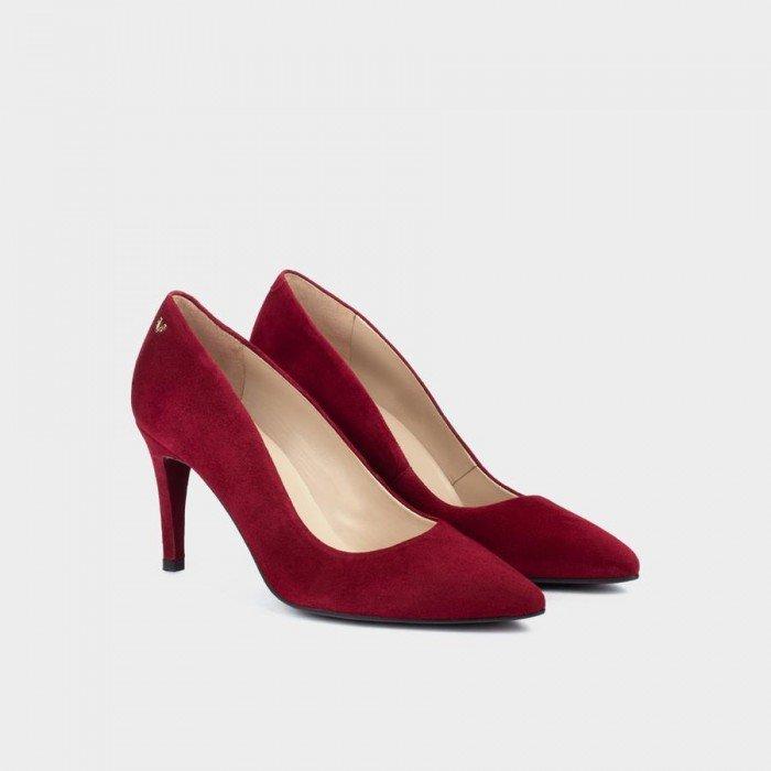 Zapatos Tacon Mujer Martinelli Selena 1365-3486A Burdeos Granate