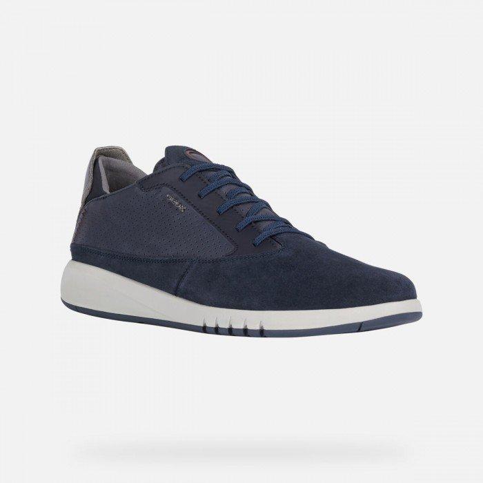 Zapatos Deportivos Hombre Geox Aerantis Azul Marino