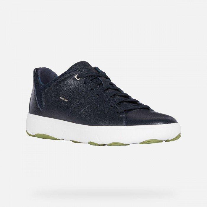 Zapatos Deportivos Hombre Geox Nebula Y Azul