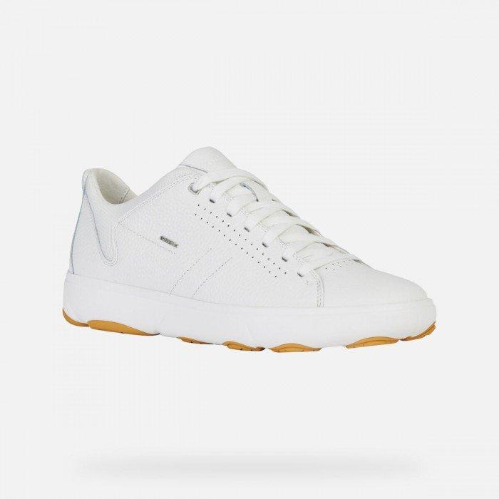 Zapatos Deportivos Hombre Geox Nebula Y Blanco
