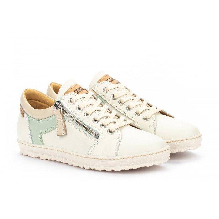 Zapatos Deportivos Mujer Pikolinos Lagos 901-6766C2 Blanco Nata