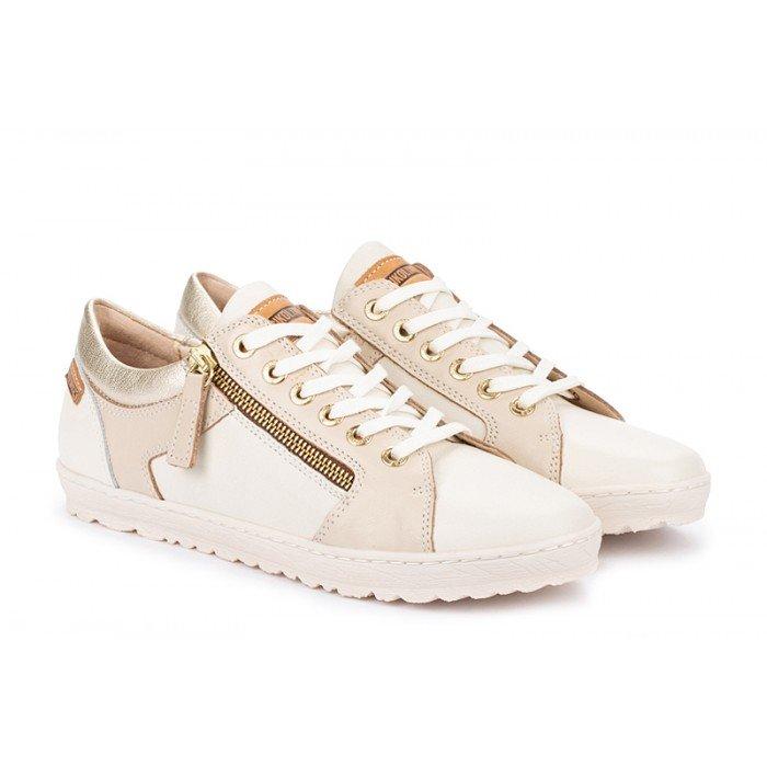 Zapatos Deportivos Mujer Pikolinos Lagos 901-6766C1 Blanco Nata