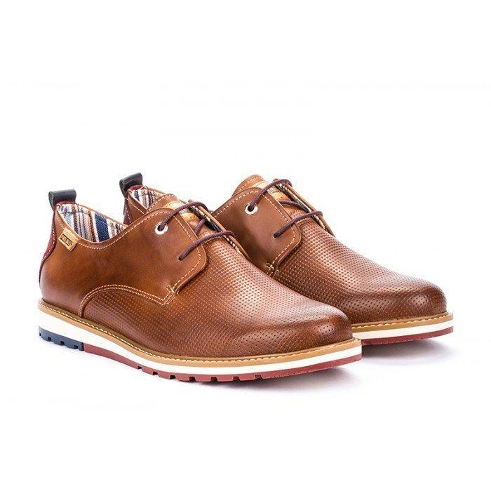 Zapatos Hombre Pikolinos Berna M8J-4273 Cuero