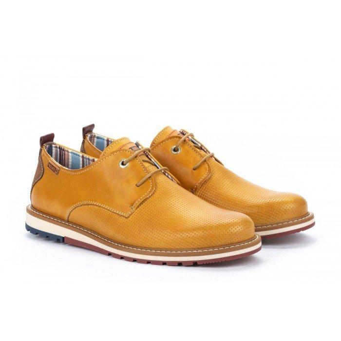 Zapatos Hombre Pikolinos Berna M8J-4273 Amarillo Honey