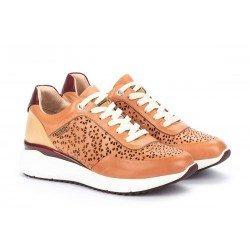 Zapatos Mujer Deportivos Pikolinos Sella W6Z-6869C1 Cuero Blush