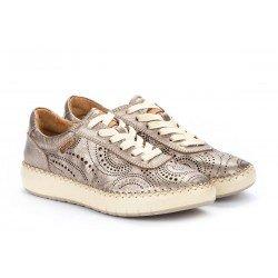 Zapatos Deportivos Mujer Pikolinos Mesina W6B-6996CL Gris Stone