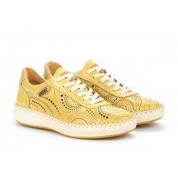 Zapatos Deportivos Mujer Pikolinos Mesina W6B-6996 Amarillo Sol