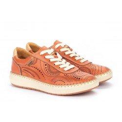 Zapatos Deportivos Mujer Pikolinos Mesina W6B-6996 Rosa Scarlet