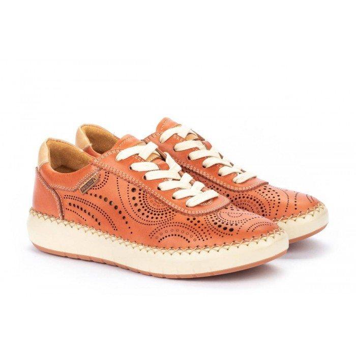 Zapatos Deportivos Mujer Pikolinos Mesina W6B-6996 Naranja Scarlet