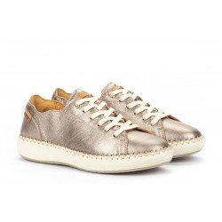 Zapatos Deportivos Mujer Pikolinos Mesina W6B-6836CL Gris Stone