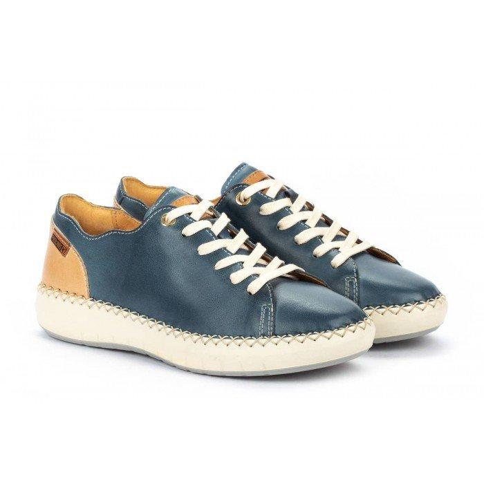 Zapatos Deportivos Mujer Pikolinos Mesina W6B-6836 Azul Sapphire