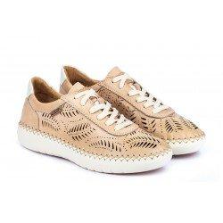 Zapatos Deportivos Mujer Pikolinos Mesina W0Y-6828 Rosa Bamboo