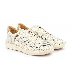 Zapatos Deportivos Mujer Pikolinos Mesina W0Y-6828 Blanco Nata