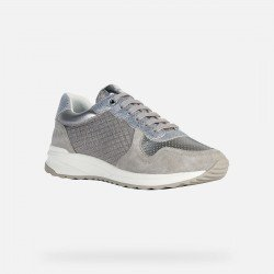 Deportivos Mujer Geox Airell Gris